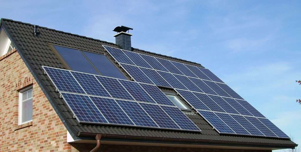 California Solar Panels on New Homes