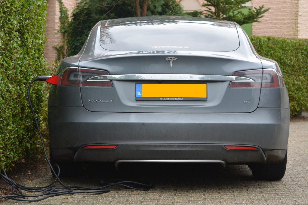 testla electric car