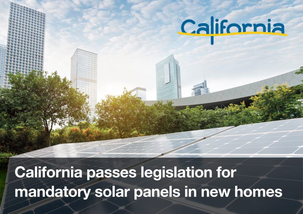 California Legislation